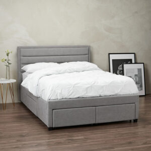GREENWICH 4.6 DOUBLE BED GREY