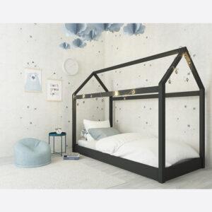 HICKORY 3.0 SINGLE BED Black