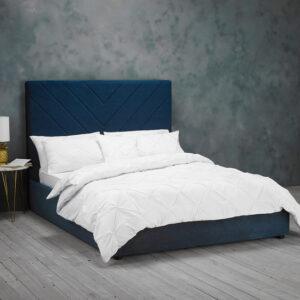 ISLINGTON KINGSIZE BED Blue