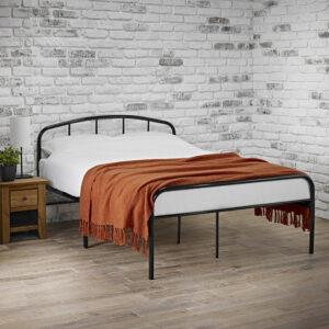 MILTON 4.6 DOUBLE BED black