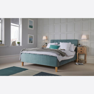 PIERRE 4.6 DOUBLE BED AQUA