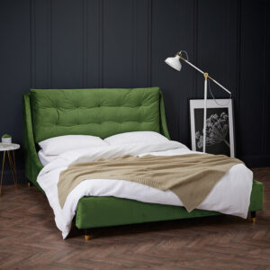 SLOANE DOUBLE BED green
